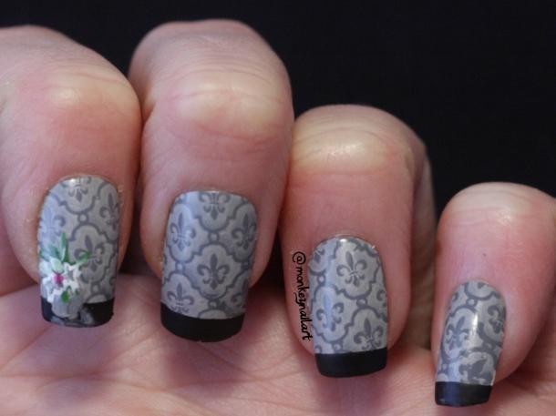 NAGG-2014-day-11-wallpaper-retro-stamp-moyou-barry-m-lychee-stamping-nail-polish-nails (4)