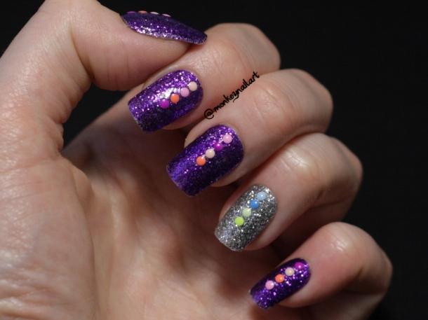 Glittah-Pirates-neverending-pile-challenge-day-1-glitter-models-own-purple-haze (3)